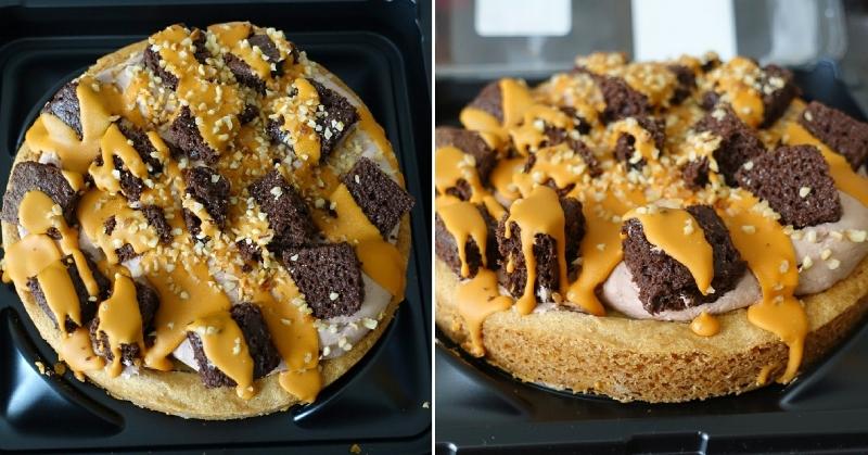 Albert Heijn supermarkt caramel brownie taart cake