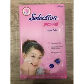X-Logers.net Selection Special Tipis Kapas Kecantikan Wajah isi 175 Pcs