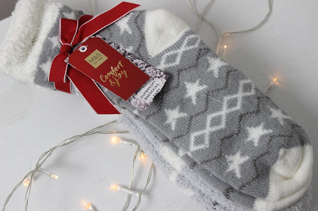 m&s christmas socks