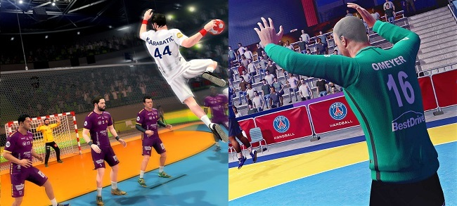 Differences of Handball 21 vs Handball 17 in Modes