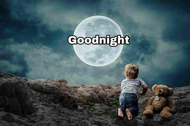 Good Night Image , photo , greetings  moon light