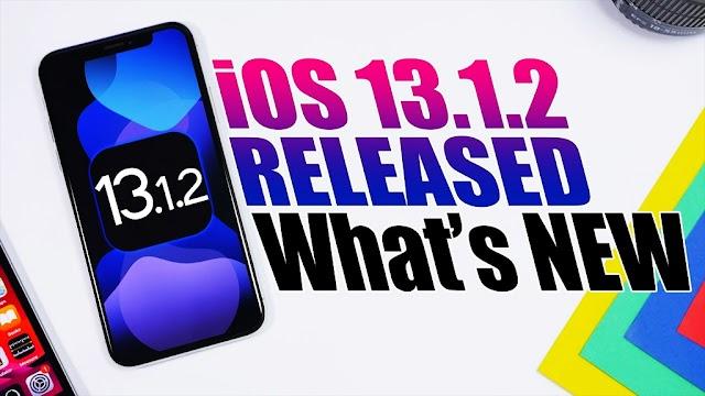 Apple phát hành iPadOS và iOS 13.1.2, khắc phục sự cố Camera, sao lưu iCloud và một số lỗi nhỏ khác
