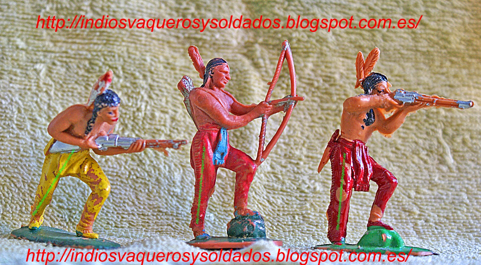 Tres indios Jecsan