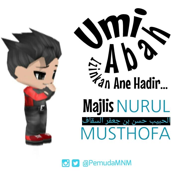 Download Wallpaper Umi Abah Izinkan ane hadir