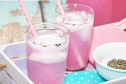 Vanilla Lavender Limeade #healthydrink #easyrecipe #cocktail #smoothie