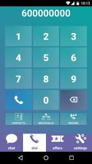تطبيق zeroapp للأتصال المجاني بدون إنترنت