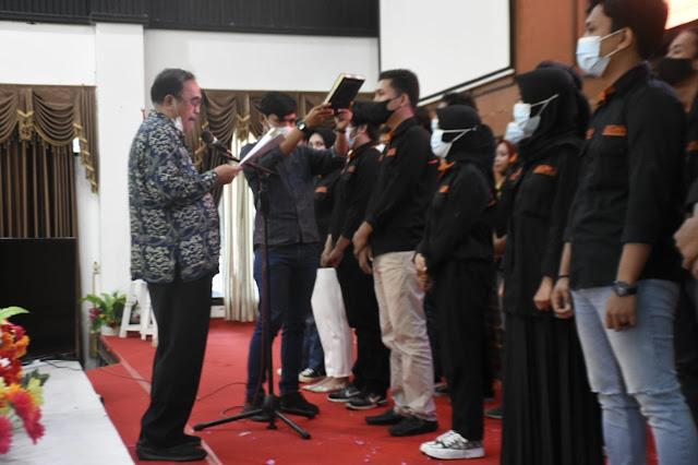 Resmi Dilantik, KMS UNM Siap Sukseskan Visi Misi Bupati ASA
