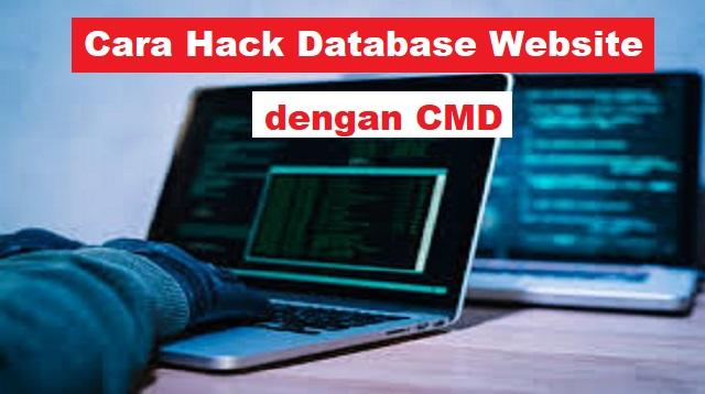 Cara Hack Database Website dengan CMD