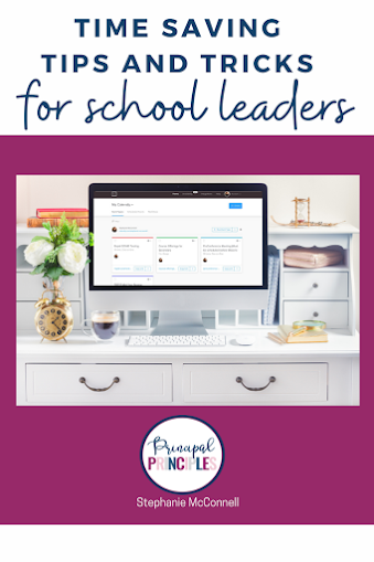 Time Saving Tips for School Leaders