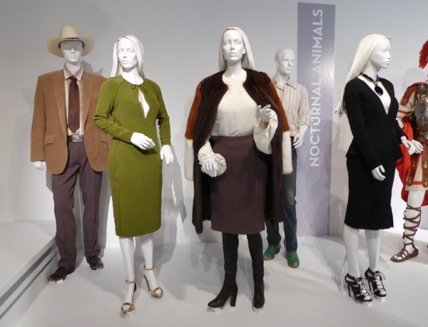Nocturnal Animals movie costume exhibit