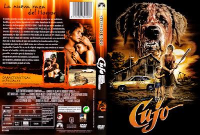 Carátula dvd: Cujo (1983)