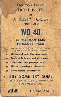 WD 40 -- Rusty Tool