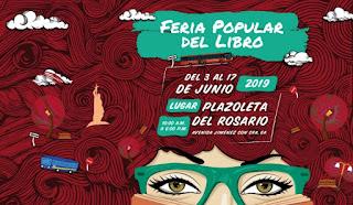 FERIA DEL LIBRO Callejera 2019 | Plazoleta del Rosario Bogotá