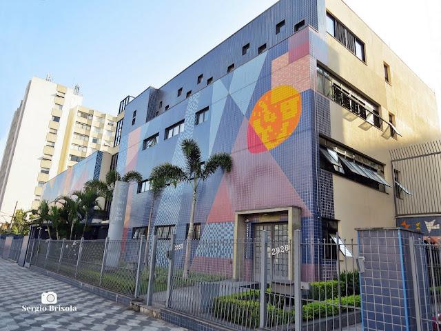 Vista ampla do Colégio Nossa Senhora do Rosário - Vila Mariana - São Paulo