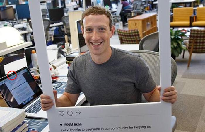 El mismo se teme? Mark Zuckerberg reveló detalle en fotografía sin darse cuenta