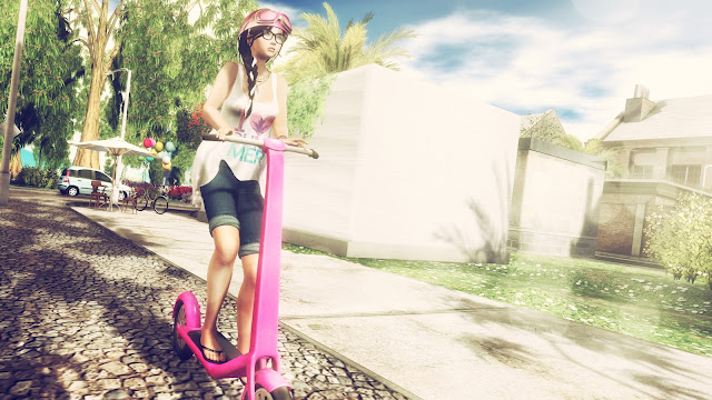 Riding Around Kemang Island!