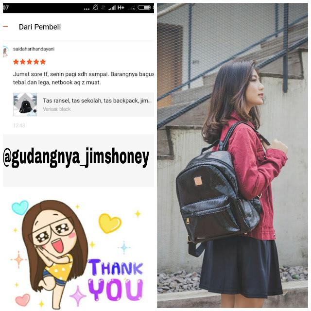 Testimoni Tas Jimshoney Belle Backpack