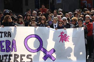 Concentración por el Día Internacional de las Mujeres