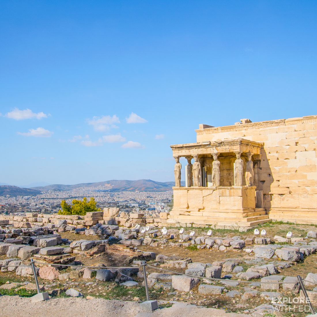 A guided tour of the Acropolis in Athens