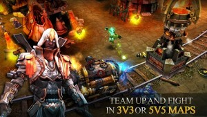 Free Download Heroes of Order & Chaos MOD APK Terbaru