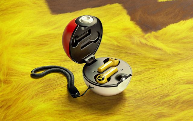 pokeball wireless earbuds