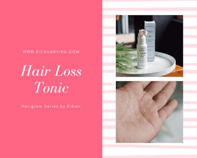 Erhair Hairgrow Series, Solusi Atasi Masalah Rambut Rontok