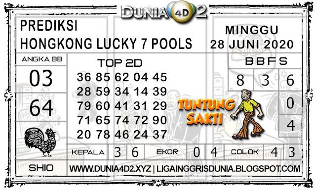 Prediksi Togel HONGKONG LUCKY7 DUNIA4D2 28 JUNI 2020