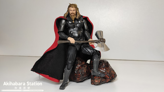 Review del S.H.Figuarts Thor  - Final Battle ver. - de Avengers: End Game - Tamashii Nations