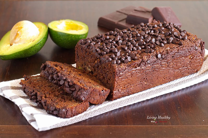 Robyn Whitworth avocado chocolate bread recipe