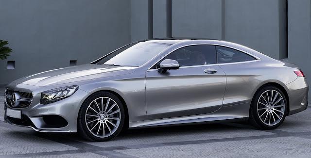 Mercedes S500 4MATIC Coupe 2018 được thiết kế tổng thể khí động học, thể thao, mạnh mẽ
