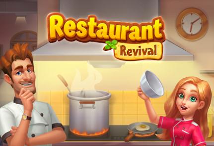 Restaurant Revival v1.3.1 Mod Yıldız Hileli Apk Son Sürüm