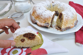 Double Colour Cake Thermomix: How to Prepare the Marble Cake