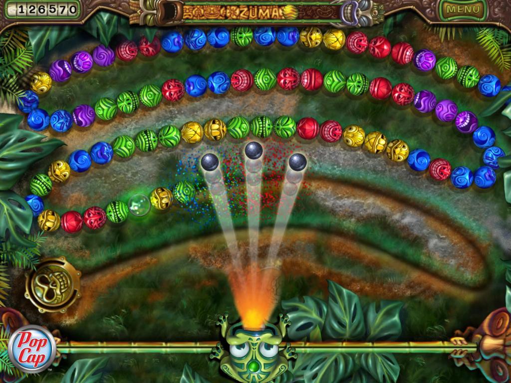 Zuma Revenge Online Gratis Spielen