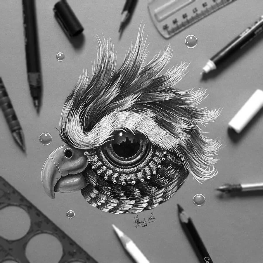 02-A-cute-little-bird-Louis-Gibiard-www-designstack-co