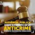 Projeto de Lei Anticrime será tema de Audiência Pública nesta quinta-feira (21)