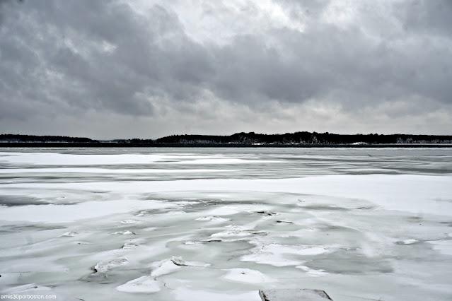 Lago tras la Tormenta de Invierno