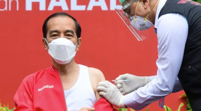 Jokowi Tanggapi Kritik 'King of Lip Service'
