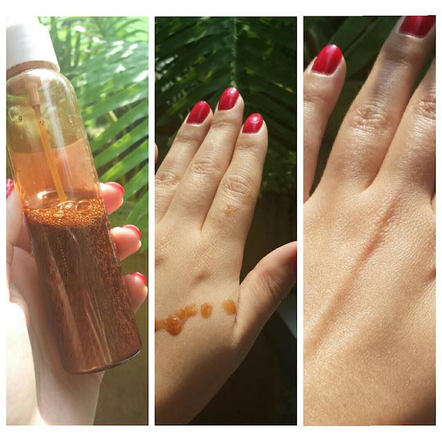 DIY : mon huile pailletée pour le corps