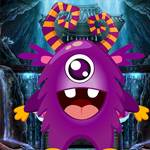 Games4King Purple Critter Rescue Escape