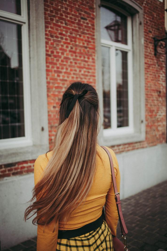 velvet hair ribbon