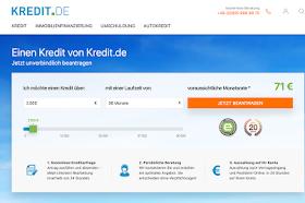 kreditantrag online Online-Kredit mit schneller Auszahlung