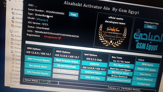 New Version Alsabahi V4.7 iCloud bypass Worldwide Free Download