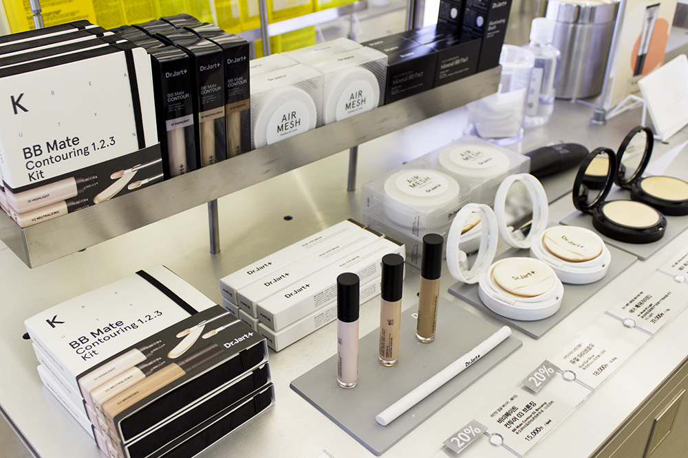 Dr.Jart+ Concept/Flagship Store: Dr.Jart+ Filter Space in Seoul products makeup