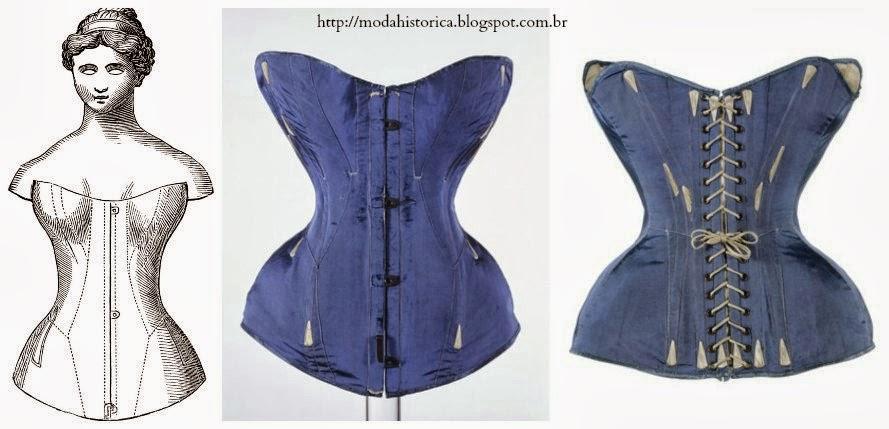 História da Moda.: Uma breve história dos corsets, seus mitos e controvérsias.