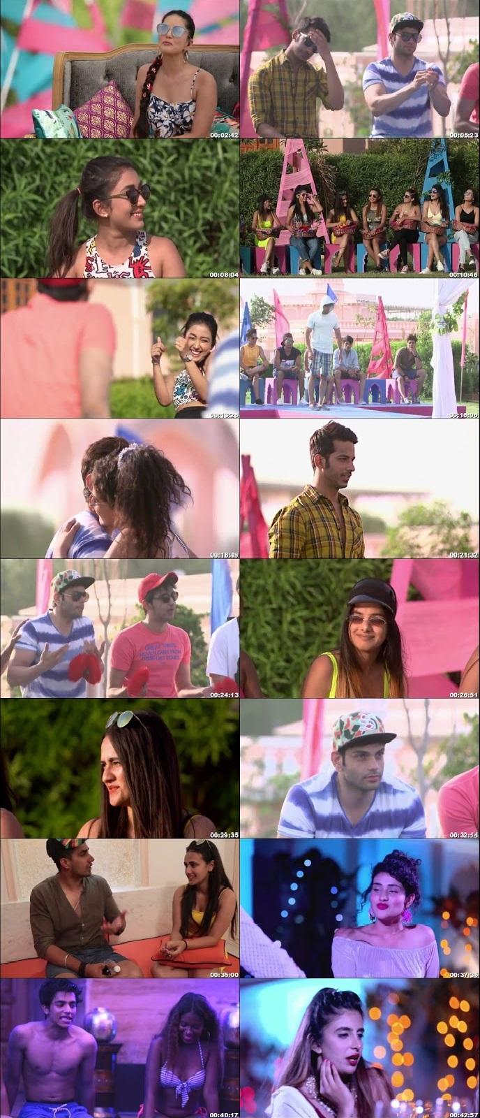 Screenshots Of Hindi Show Splitsvilla 12 30th August 2019 Episode 03 300MB 720P HD