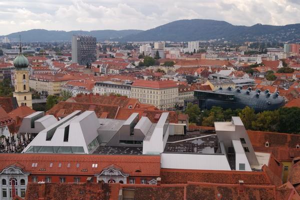 styrie graz schloßberg kunsthaus
