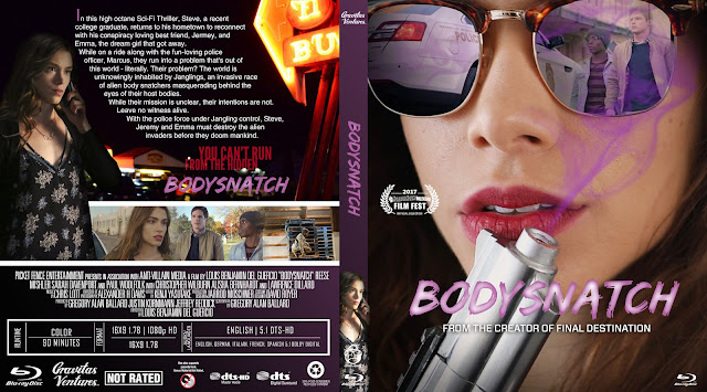 Bodysnatch Bluray Cover