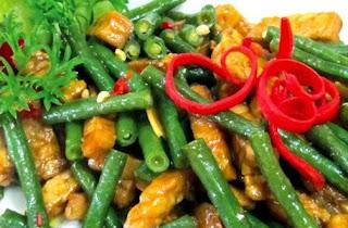 Resep Masakan Tumis Kacang Panjang Udang Jagung Manis