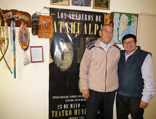 Rubén Sada con David Gallardo