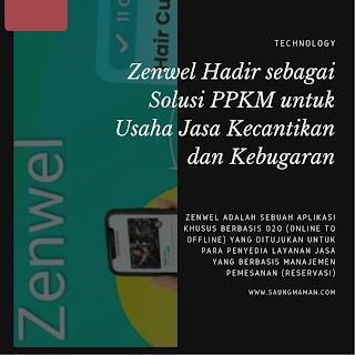 Zenwel Hadir sebagai Solusi PPKM untuk Usaha Jasa Kecantikan dan Kebugaran